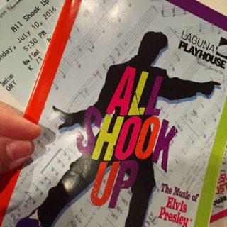 Entertainment demo image for home page features - All Shook Up playbill