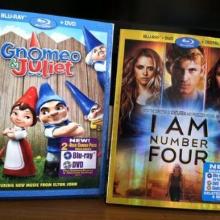 Gnomeo & Juliet and I am Number Four – DVD Winner