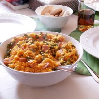 Arroz con Salchichas Recipe