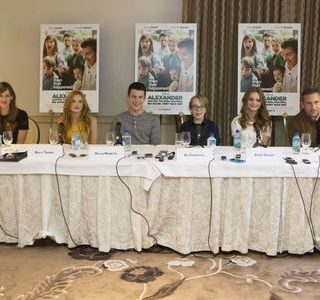 Alexander and the Terrible, Horrible, No Good, Very Bad Day Press Junket