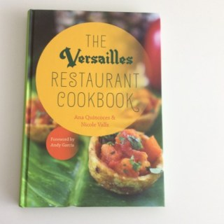 Versailles Restaurant Cookbook – A Winner