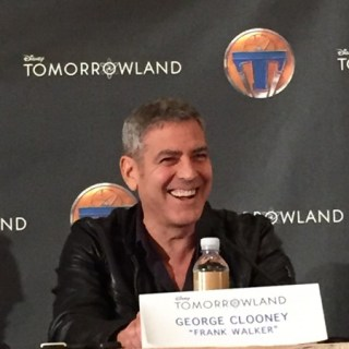 George Clooney – Boy Genius. Talking about Tomorrowland