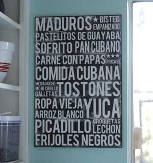 Cuban Food Poster Winners