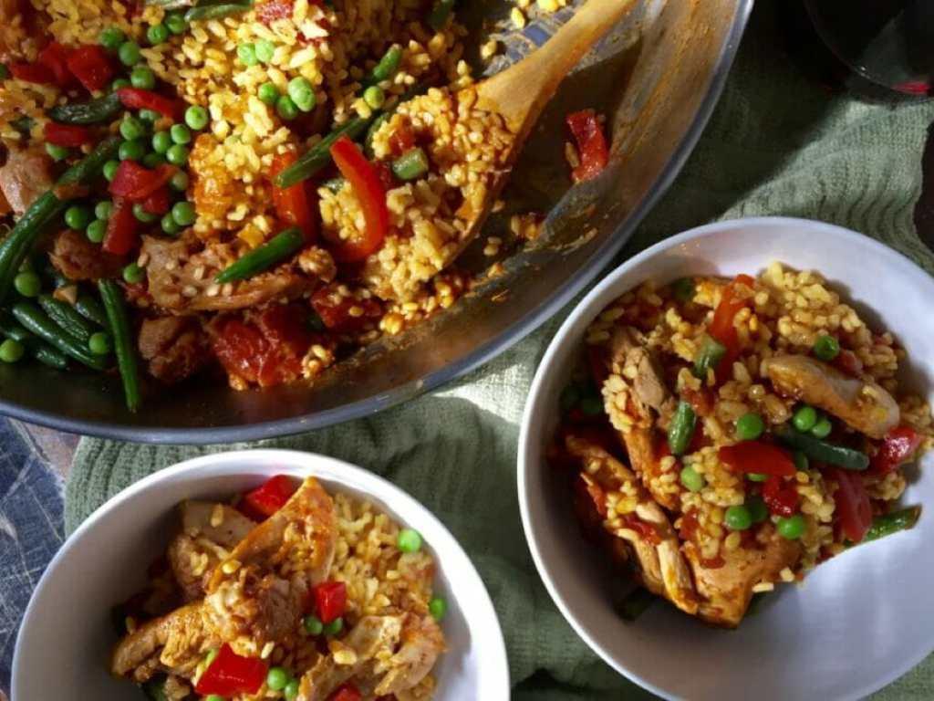 chicken-paella