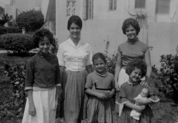 Verdes Sisters, circa 1961