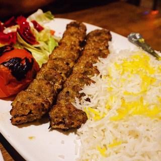 Dinner at Bukhara (previously known as Ariana)