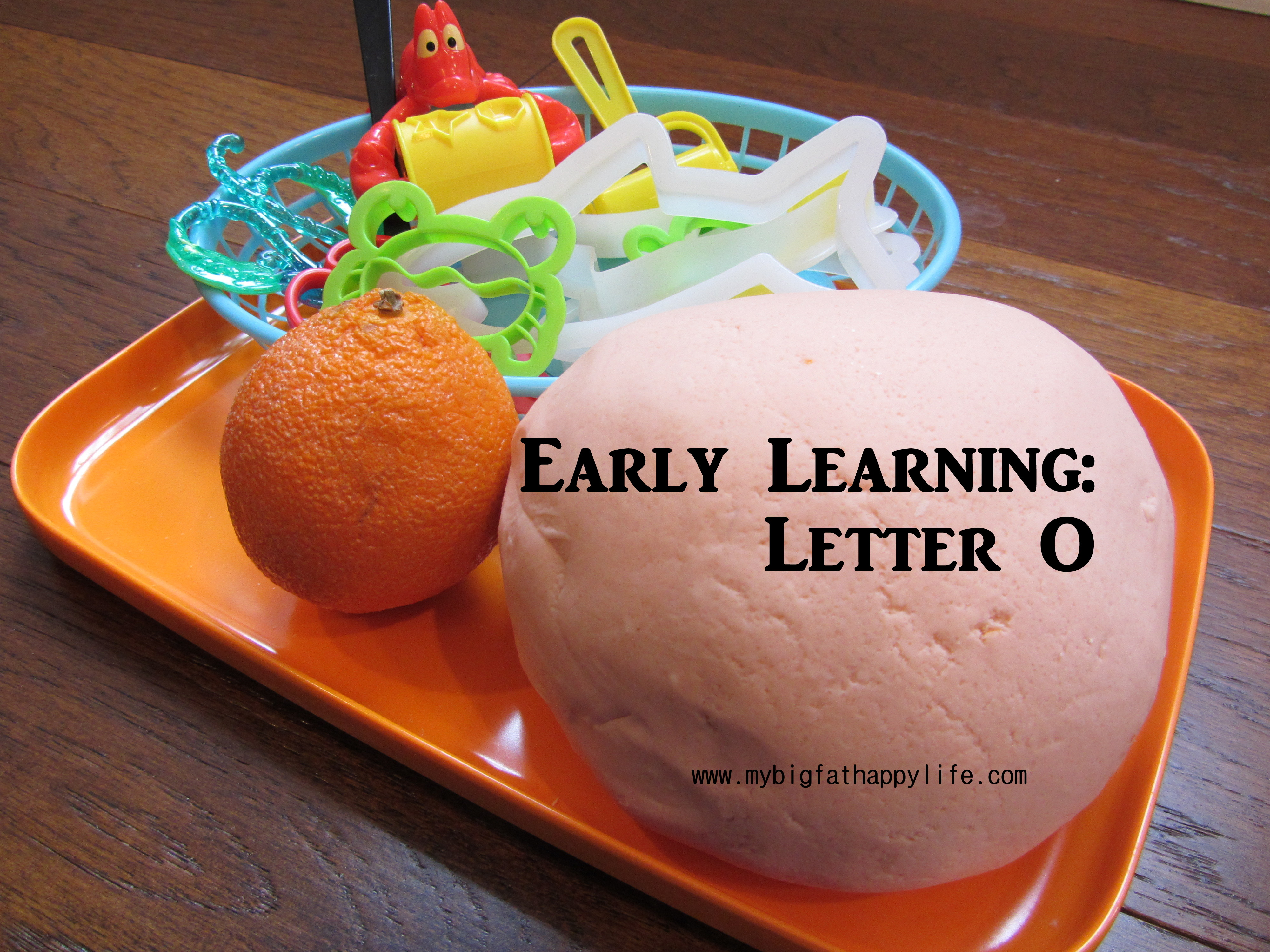 Early Learning Letter O