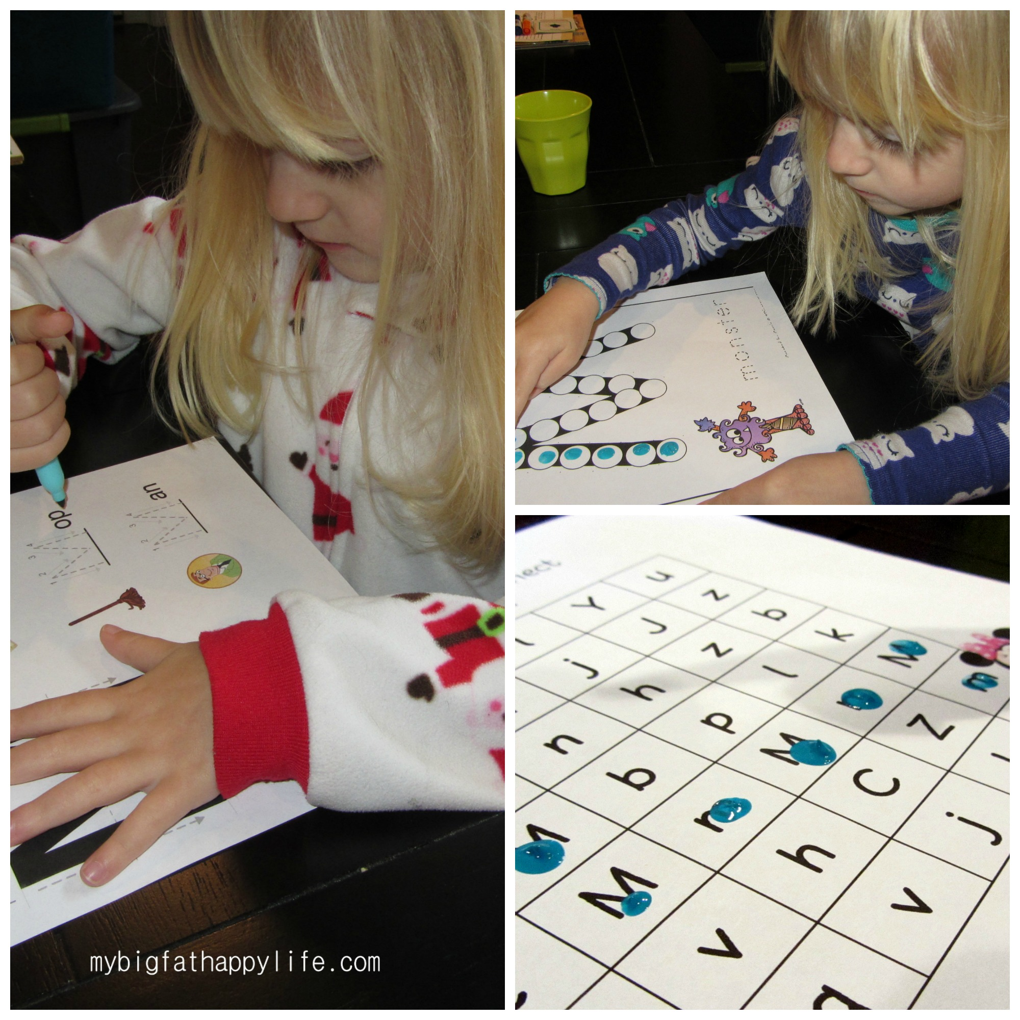 Early Learning Letter M
