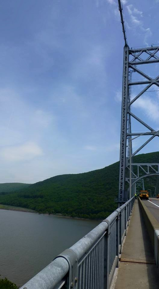 Crossing the Hudson River