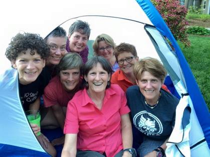 How many hikers can you fit in a tent?