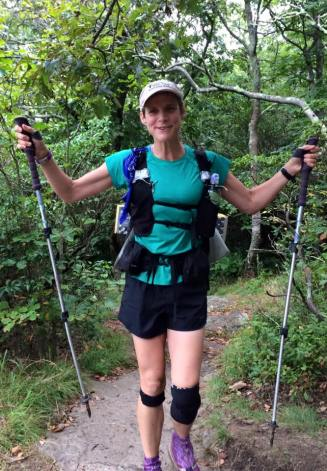 """Maine to Georgia on the Appalachian Trail completed. Congratulations Susan! """