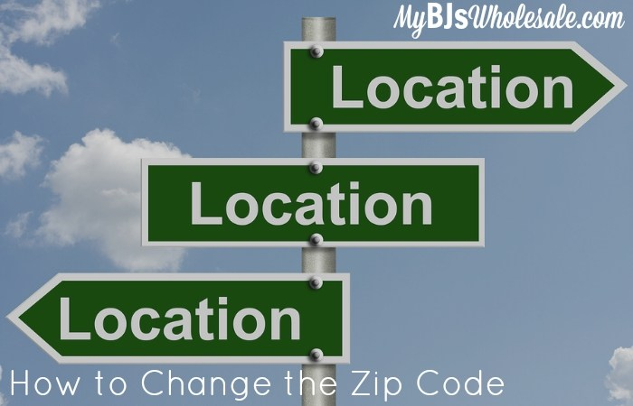 How to Change the Zip Code for Coupons.com