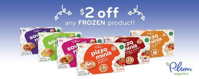 New! From Plum Organics - Save $2 on Any Plum Frozen Kid Product