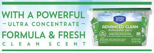 Save $2 on Berkley Jensen Dish Detergent + Scenarios