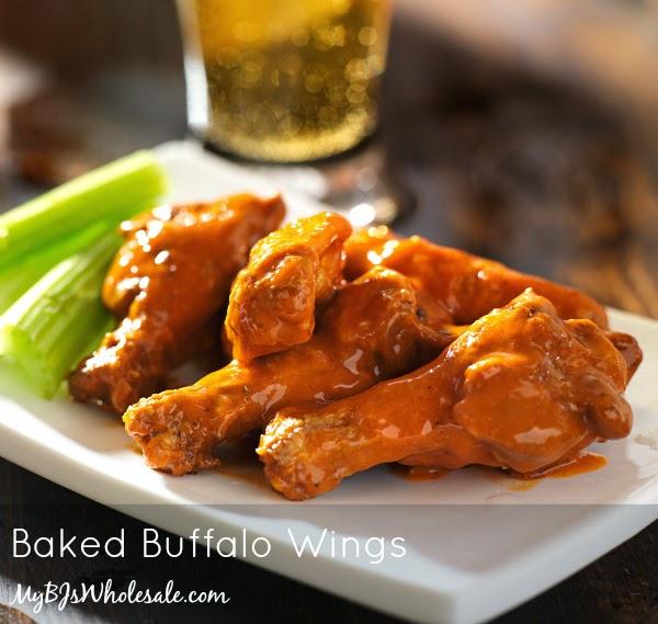 Super Bowl Sunday: Baked Buffalo Wings