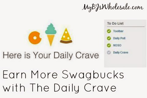 Swagbucks Tip: Earn More Swagbucks with The Daily Crave
