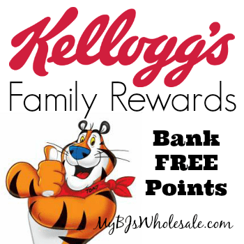 Kellogg's Family Rewards: Bank 75 Points