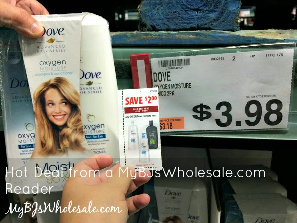 Dove Advanced Series Oxygen Moisture Shampoo and Conditioner Just .98 After Coupons