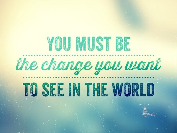 It's Time for a Change...