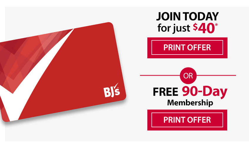 15- Month BJ's Membership for $40 + Receive a special gift