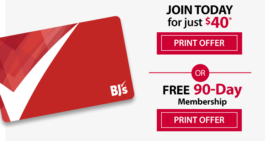 discounted- BJs -Membership offer 15 months for $40