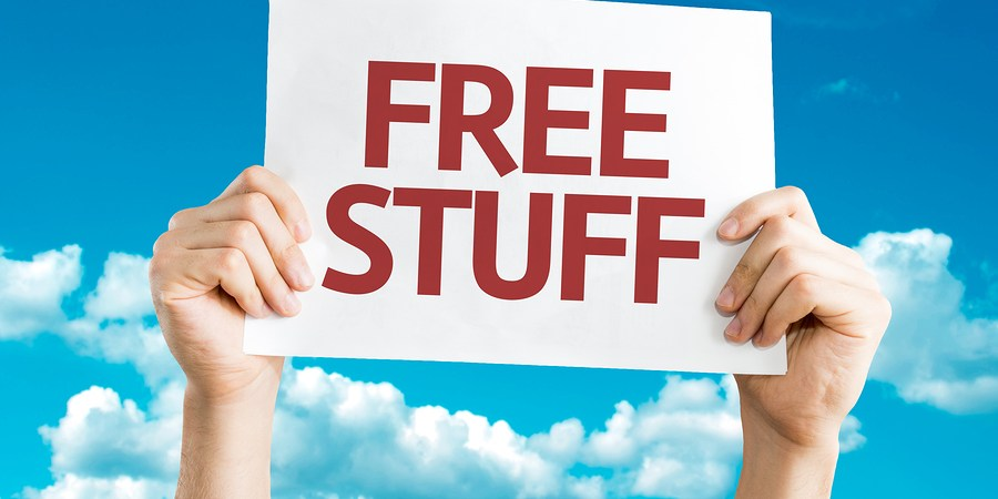 freebies-for-the weekend