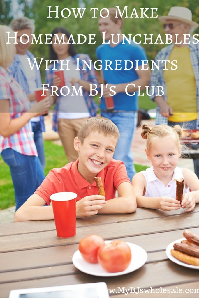 how to make your own homemade lunchables at BJs wholesale club