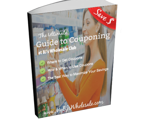 Free Guide to Couponing at BJs Wholesale Club