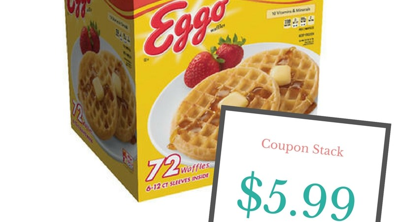 Kellogg's Eggo Waffles deal at BJs Wholesale Club