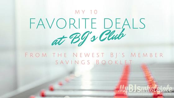 favorite deals at BJs wholesale club coupons