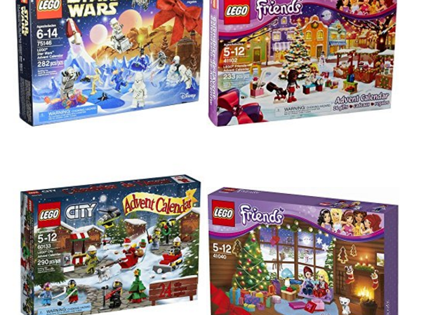 Lego Advent Calendars on Amazon Christmas deal