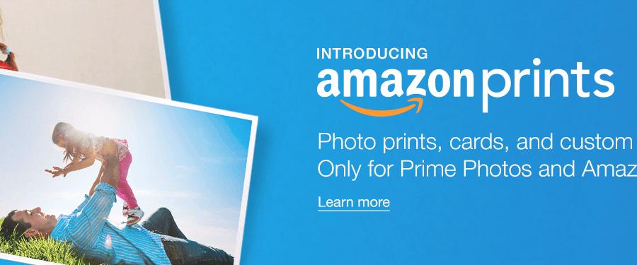 amazon prints free amazon prime members