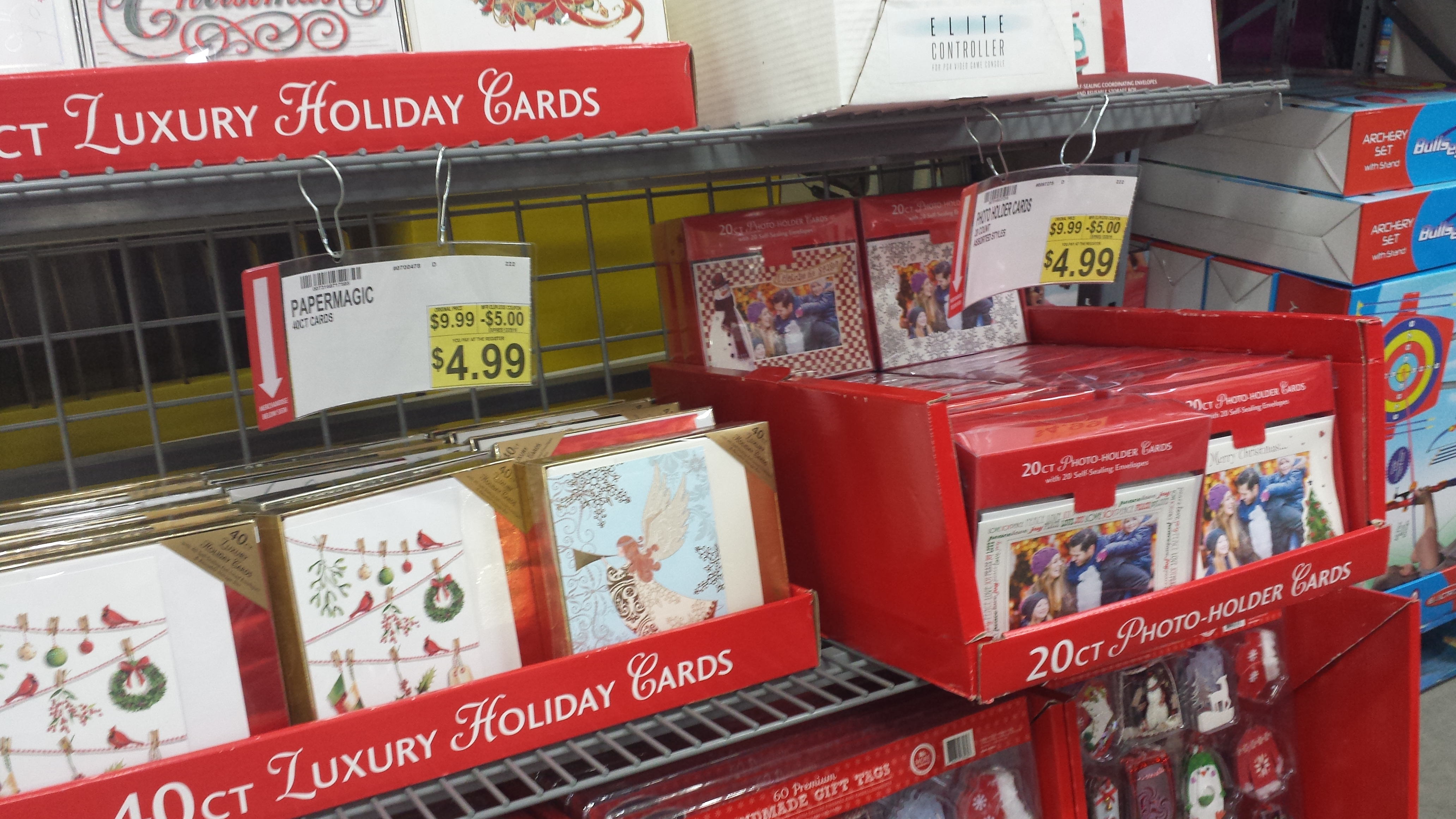 Christmas Cards Half OFF Possibly More Today At BJs MY