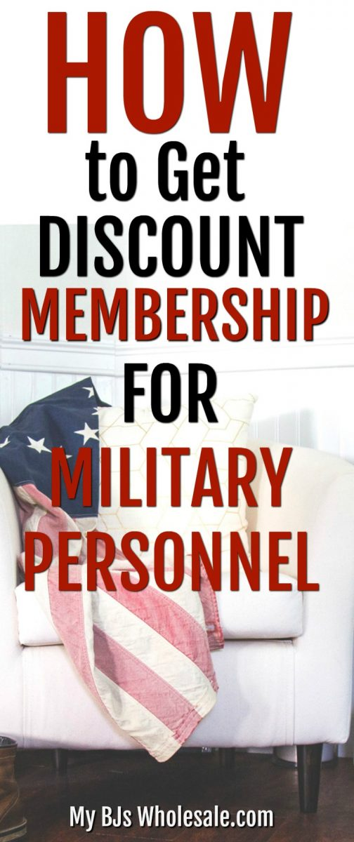 Military personnel receives a great discount on a membership to BJ's Wholesale club. Plus with the stacking of coupons and other deals, it's a steal of a deal.  #discount #membership #bjswholesale #howto #frugal #coupons