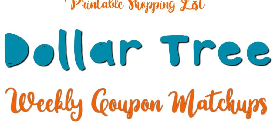 Dollar Tree Weekly Deals