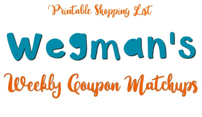 wegmans weekly coupon matchups