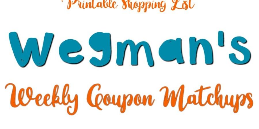 wegmans weekly coupon matchups