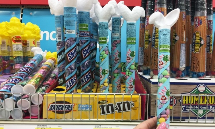 easter candy tubes at Target deal