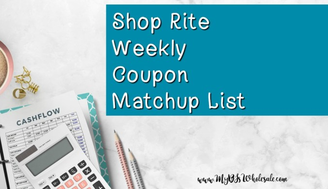 shop rite weekly coupon matchuips