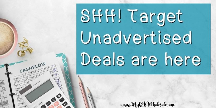 Target unadvertised deals this week