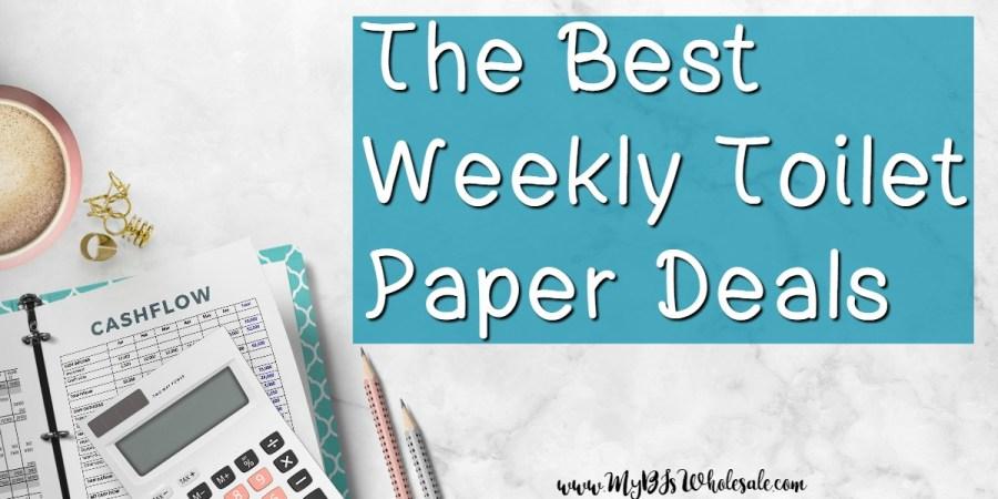 best weekly toilet paper deals