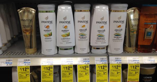 pantene hair care at cvs