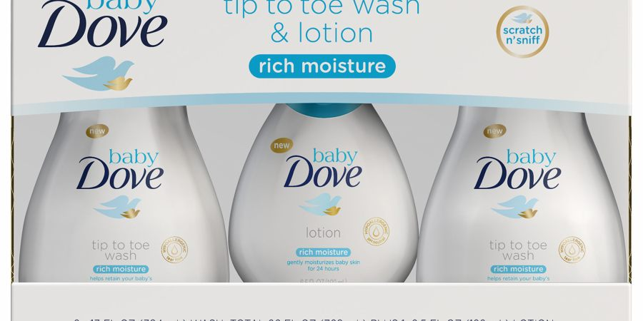 Baby Dove Wash and Lotion at BJs