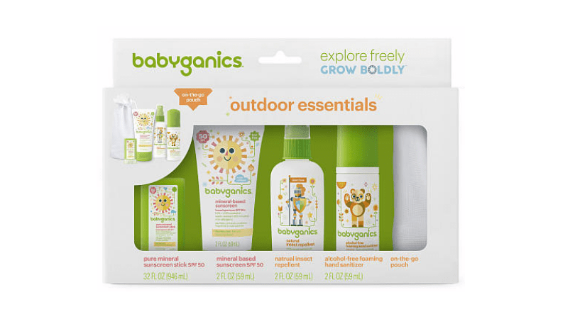 Baby Ganics Sunscreen kit