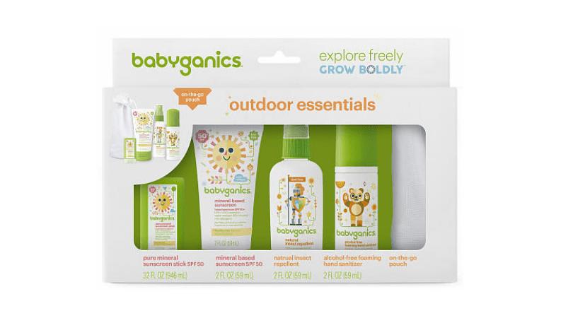 Baby Ganics Sunscreen kit