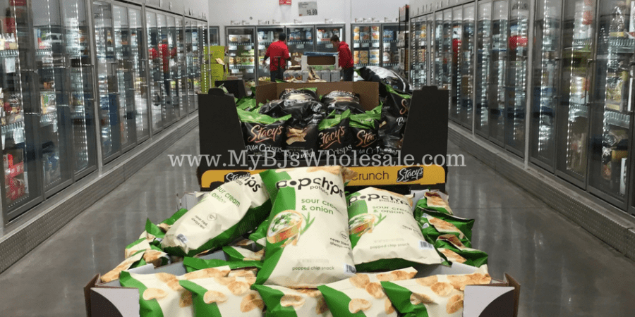 popchips sour cream and onion price at BJs wholesale club