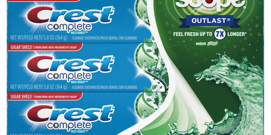 crest complete toothpaste deal at BJs