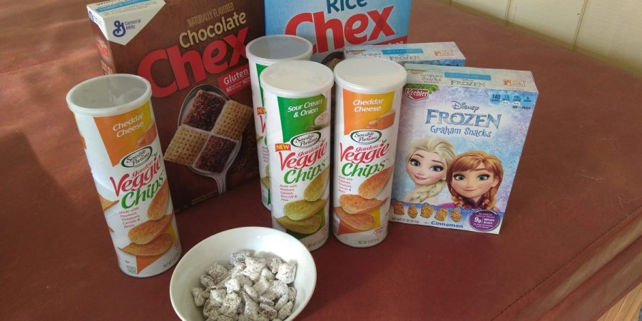 Recent target shopping trip saved money on snacks