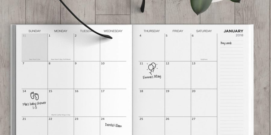 Bjs monthly planner notebooks price