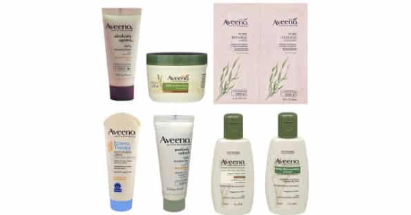 free aveeno sample box on amazon